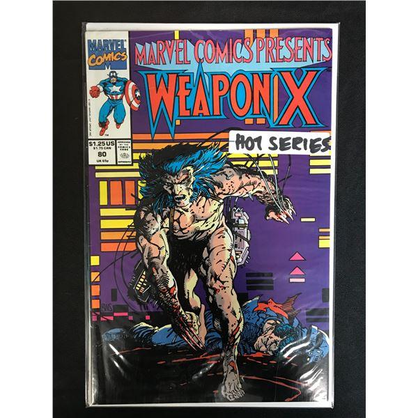 MARVEL COMICS PRESENTS WEAPON X NO. 80