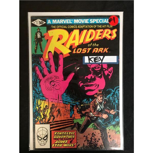 MARVEL COMICS RAIDERS OF THE LOST ARK NO. 1