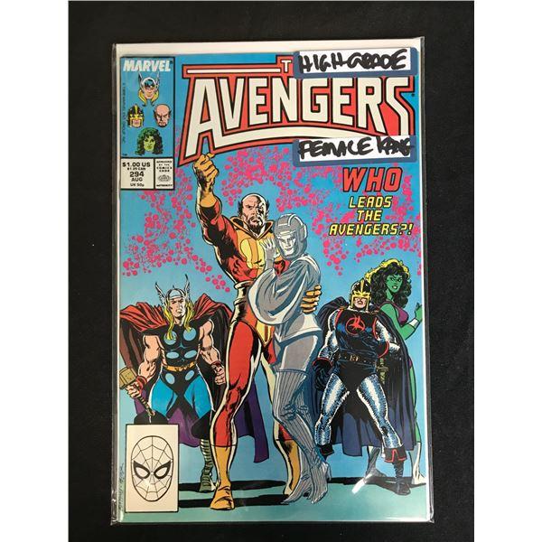 MARVEL COMICS THE AVENGERS NO. 294