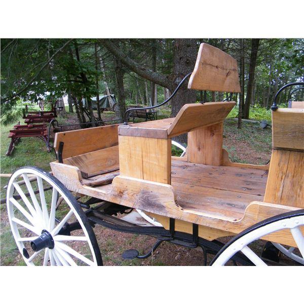 Solid 6 Passenger Horse Drawn Wagon