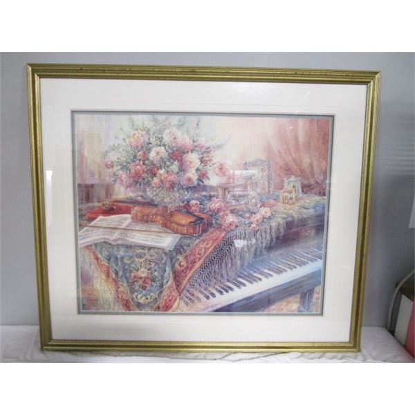 Hand Signed MUSIC ROOM Lena Yiu Print  #577/5500