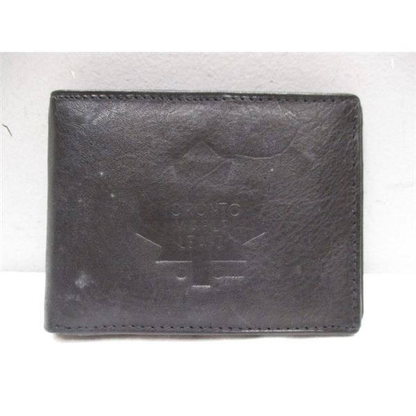 Leather Wallet Toronto Maple Leafs
