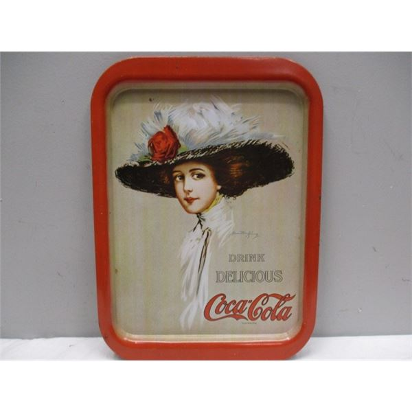 Coca-Cola Tray 1971 Reissue Made In USA