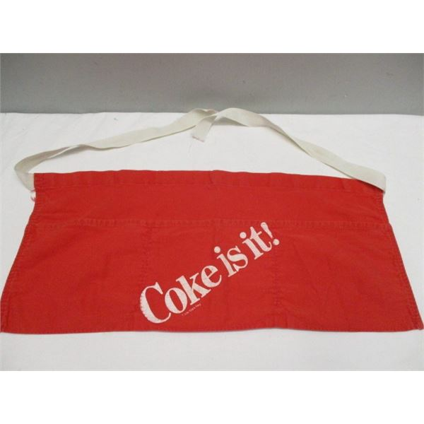 Coca-Cola Apron Coke Is It