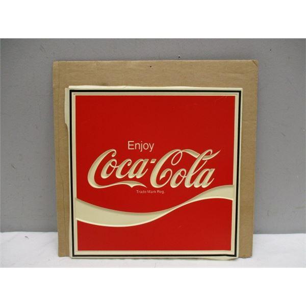 Enjoy Coca-Cola Sign
