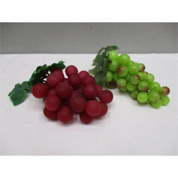 Vintage Rubber Grapes