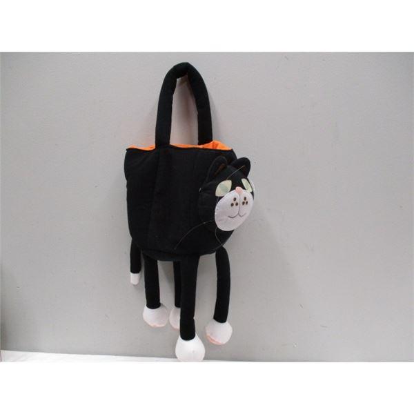 Halloween Cat Trick Or Treat Bag