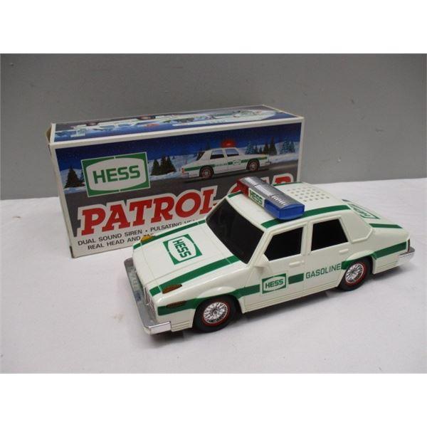 Hess Patrol Car With Box