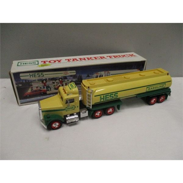 Hess Toy Tanker Truck With Box