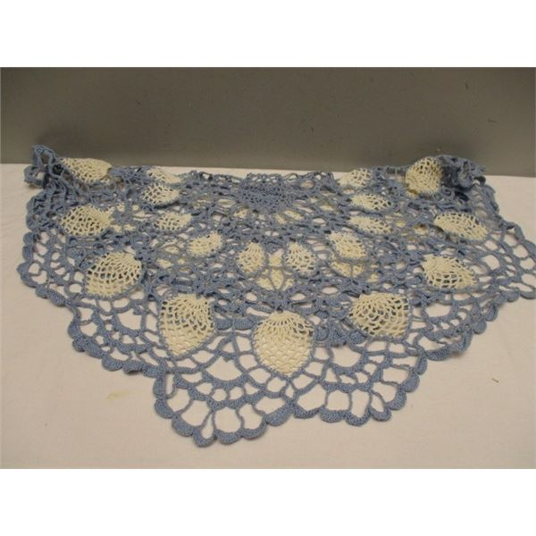 Round Lace Table Cover Or Large Doily