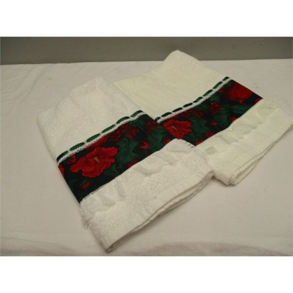 2 Guest Hand Towels