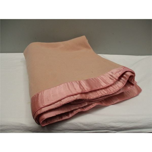 OLD Merino Wool Blanket Made In England for Eaton's