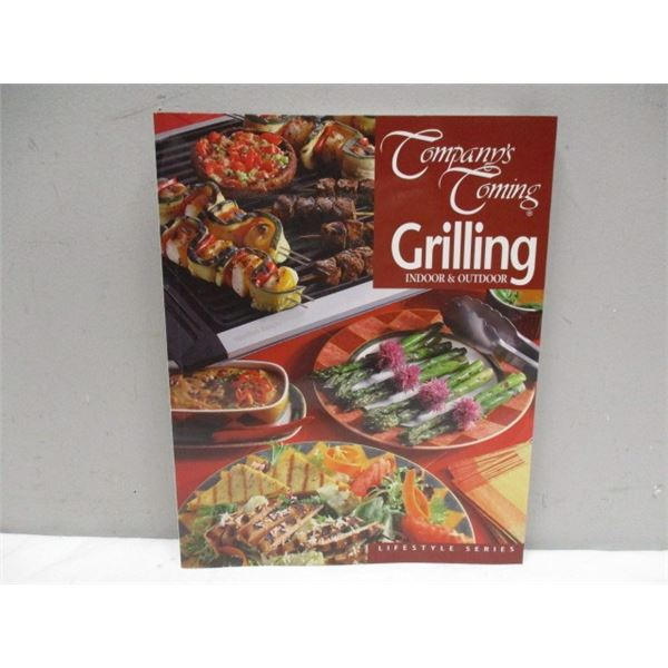BOOK Company's Coming Grilling