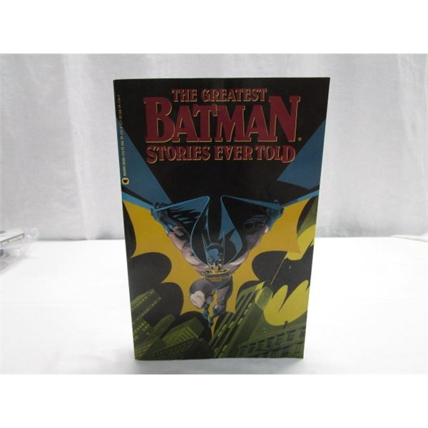 BOOK The Greatest Batman Stories Ever Told