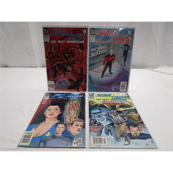 Star Trek Next Generation Lot of 4 Comics