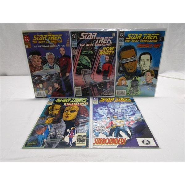 Star Trek Next Generation Lot of 5 Comics