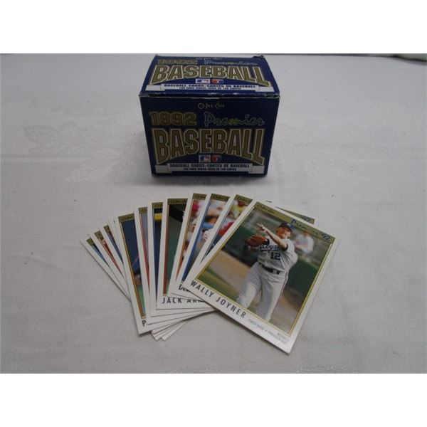 1992 OPC Baseball Cards in Open Box