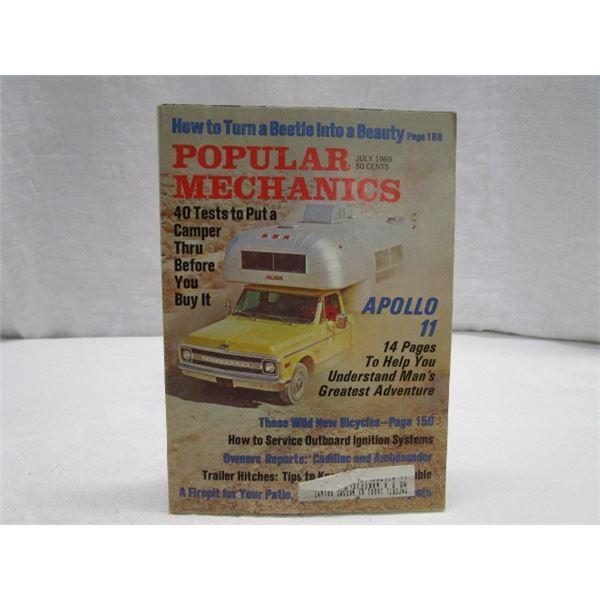 MAGAZINE Popular Mechanics July 1969