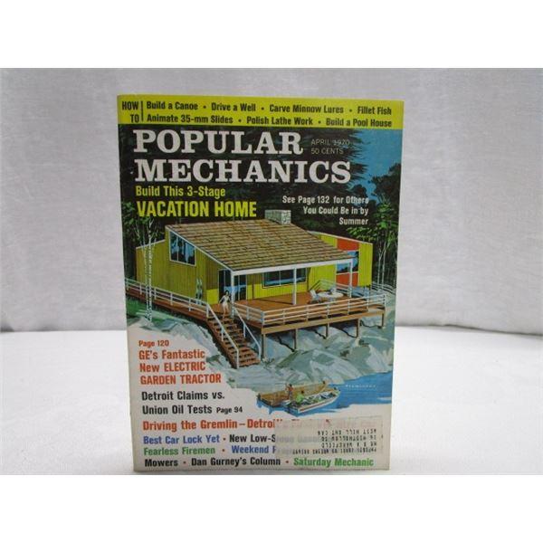 MAGAZINE Popular Mechanics Apr 1970
