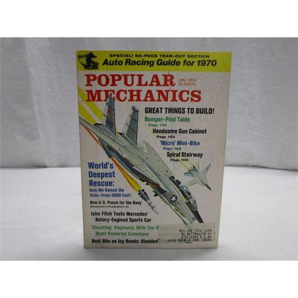 MAGAZINE Popular Mechanics Jan 1970