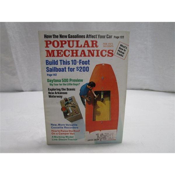 MAGAZINE Popular Mechanics Feb 1971