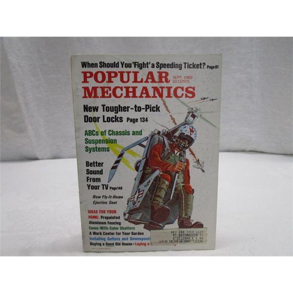 MAGAZINE Popular Mechanics Sept 1969