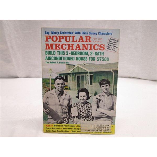 MAGAZINE Popular Mechanics Nov 1970