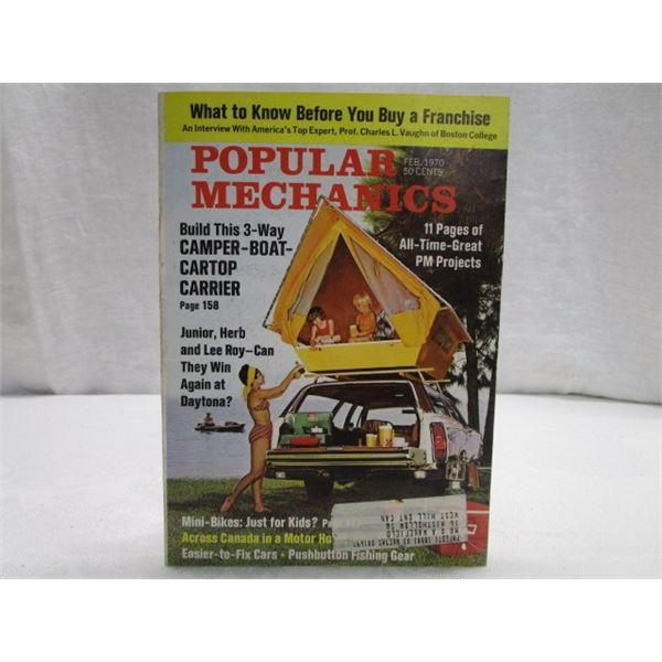 MAGAZINE Popular Mechanics Feb 1970