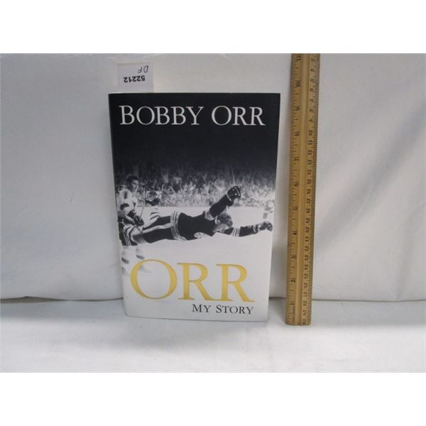 BOOK Orr My Story by Bobby Orr