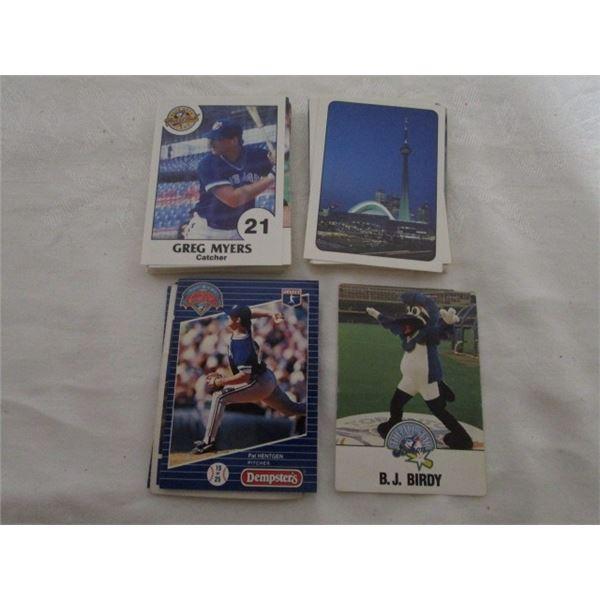 Lot Of 60 Toronto Blue Jays Cards