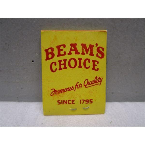 Advertising Jim Beam's Choice Lead Bait Weights