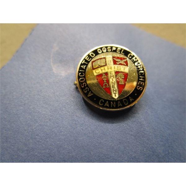 Assoc. of Gospel Churches Canada Pin