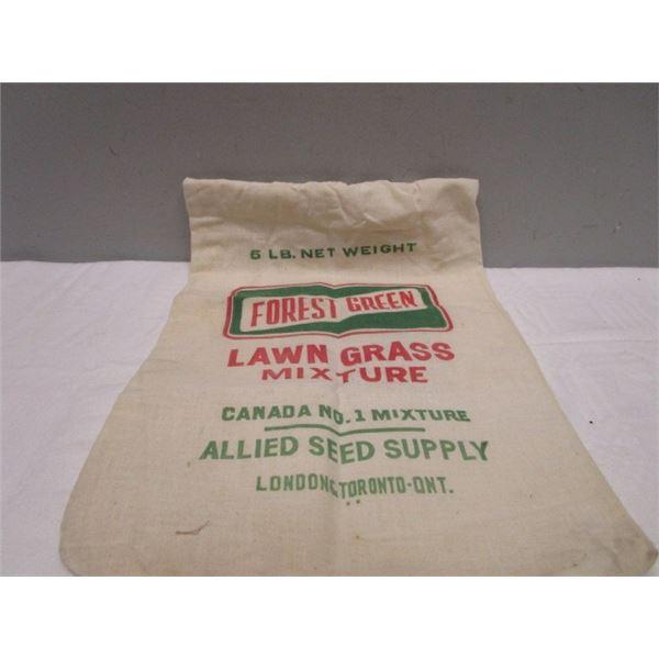 Cotton Bag Lawn Grass Seed Bag