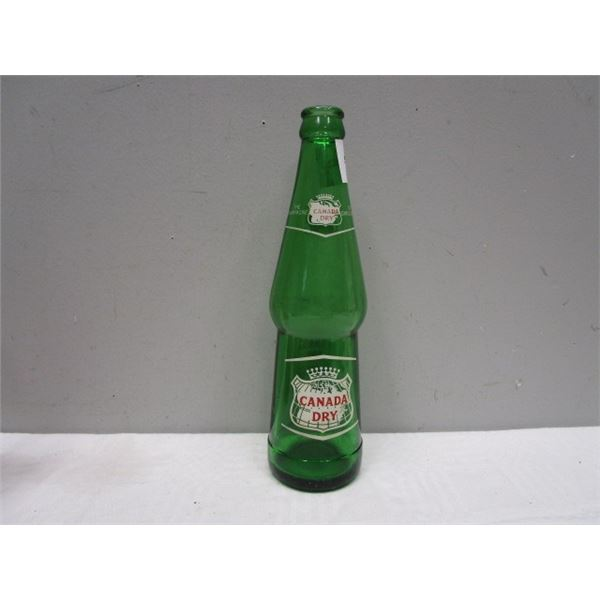 Canada Dry Glass Beverage Bottle