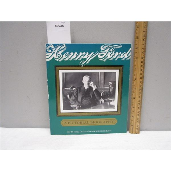 BOOK Henry Ford Pictorial Biography