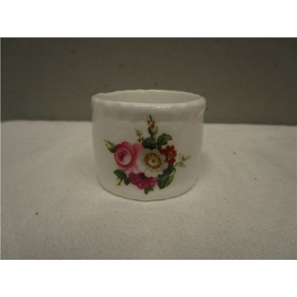 Coal Port  China Napkin Ring Made in England
