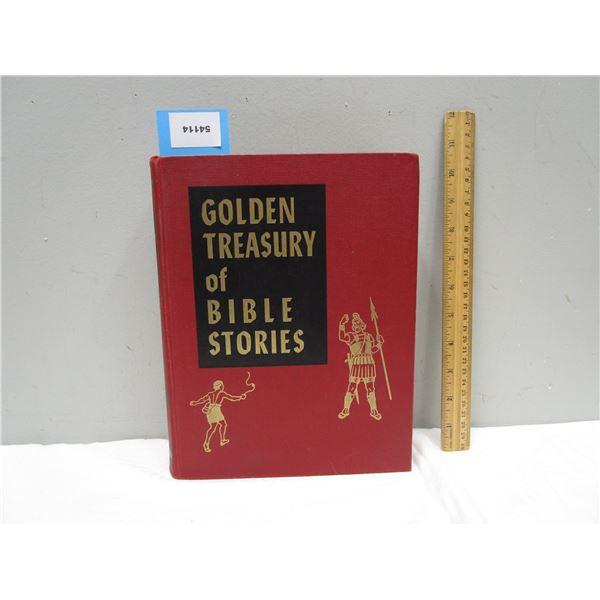 BOOK Golden Treasury of Bible Stories