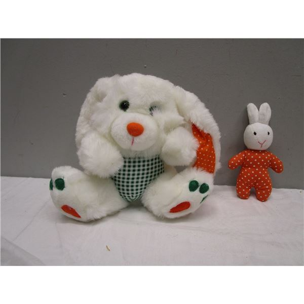 Plush Bunny Rabbit Lot Make Great Dog toys