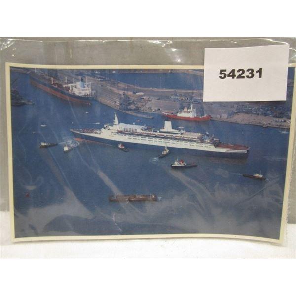 Postcard Falklands Task Force Sovereign