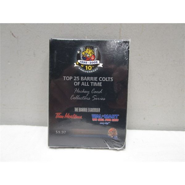 Barrie Colts Collector Series Hockey Card Set 1995