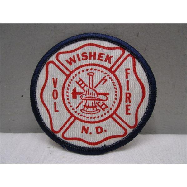 Patch - Wishek Volunteer Fire N.D.