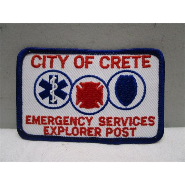 Patch City of Crete Emergency Services