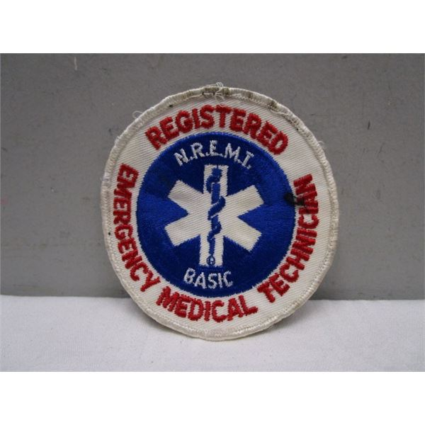 Patch Registered Emergency Medical Technician
