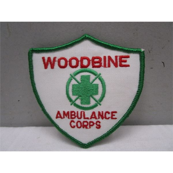 Patch Woodbine Ambulance Corps