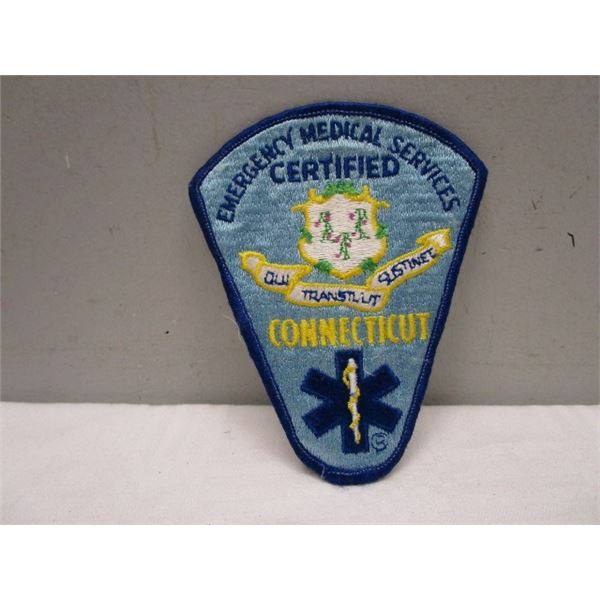Patch Emergency Medical Services Connecticut