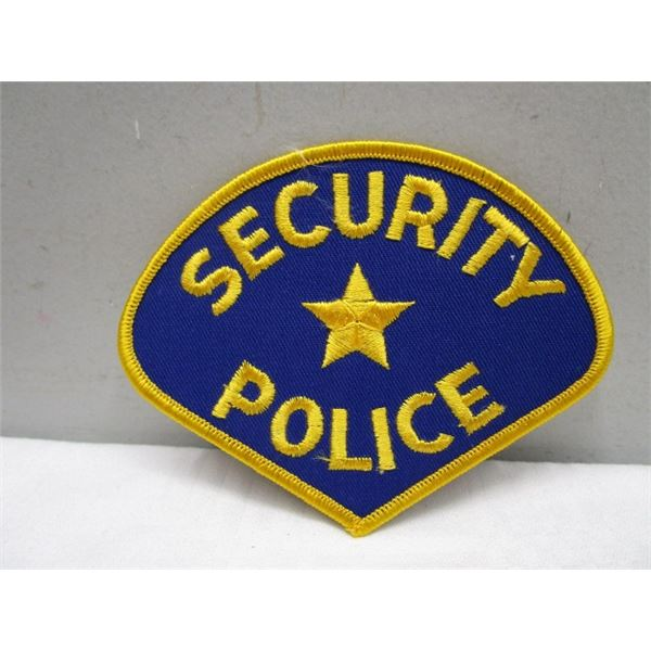 Patch Security Police