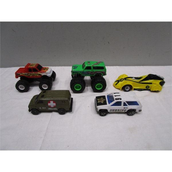 Monster Trucks and More Car Lot