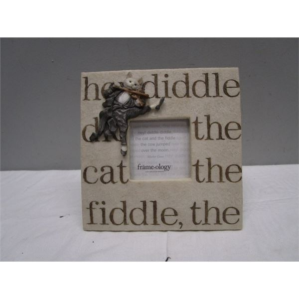 Cat & the Fiddle Picture Frame