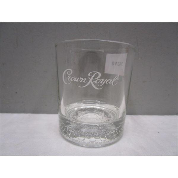 Crown Royal Glass Tumbler