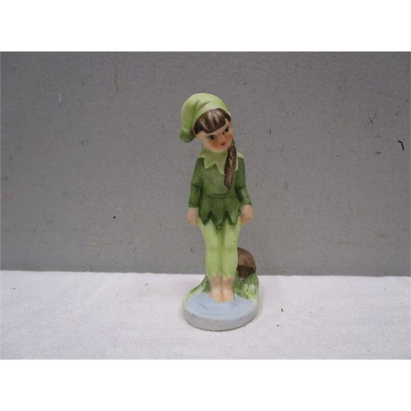 Mid-Century Pixie Girl Figurine